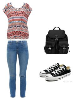 """""""Back to school"""" by tevelozo ❤ liked on Polyvore"""