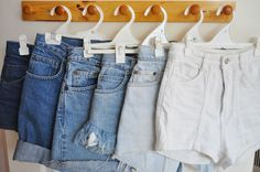 denim shorts ❚