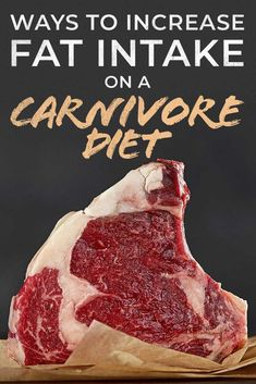 Our article helps explain the importance of fats when it comes to a healthy diet and ways in which you can increase them should you choose to while on an all meat diet.  Some people feel better with more fat and others not so much but what we hope is that this article can help you out either way! #carnivorediet #diet #allmeat #keto #ketosis #fat #highfat #dietplan #plan Meat Diet, Diet Food List, Diet Tips, Low Carb Recipes, Diet Recipes, Burger Press, Easy Diets, Diets For Beginners, Good Energy