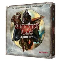 The Summoner Wars Deluxe Set -$36- contains 6 different complete factions to choose from. Play as the Shadow Elves and conceal your plans in swirling darkness! Choose the Benders and confound your foe, turning his own troops against him! Command the Vargath, mountainous goatfolk who call lightning from the heavens! Select the nefarious Sand Goblins and delight in malicious trickery! Muster the Deep Dwarves and control the forces of Geomancy!