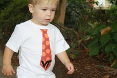 Cute idea for a little Hokie.