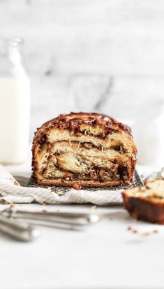 Pecan Pie Babka This babka recipe is filled with pecans, brown sugar, and cinnamon. It's the perfect Thanksgiving dessert recipe that everyone will love! Baking Recipes, Cake Recipes, Dessert Recipes, Dinner Recipes, Thanksgiving Desserts, Fall Desserts, Thanksgiving Sides, Christmas Desserts, Babka Recipe