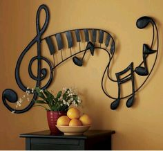 Decoración de musica