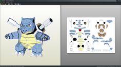 Resultado de imagem para papercraft pokemon download