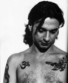Dave Gahan, I thought I was going to marry you back then.