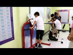 kinesthetic learning desks for classrooms- pedal desks, standing ...