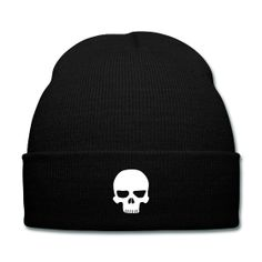 Skull Beanie - Available Here: http://sondersky.spreadshirt.com.au/skull-A18439174