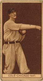 1912 Brown Backgrounds T207 #33 King Cole Front