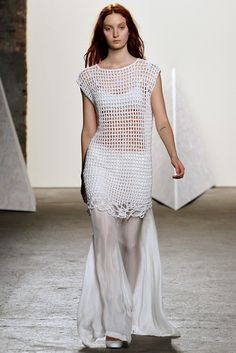 Crochetemoda: Túnica/Vestido de crochet