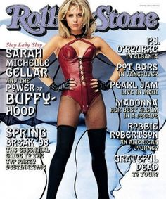 Sarah Michelle Gellar (1998) | The 25 Sexiest Rolling Stone Covers Of All Time