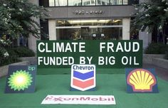 Despite knowing about Climate Change, Exxon continued to support its Denial