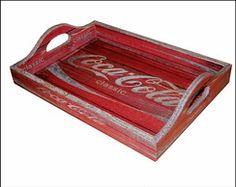 Bandeja Coca Cola Classic Red