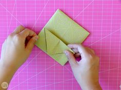 We didn't just hand these letters to each other willy nilly, we found creative ways to fold them up. Learn how to fold a letter into a pull tab note! Origami Letter Fold, Letter Folding, I Tried, Crafts For Kids, Notes, Lettering, Creative, Cards, Diy