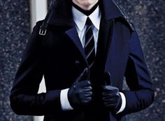 ...I think I have an obsession with men's coats and gloves... if it's wrong, I don't want to be right...