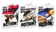 New Practices New York, Identity and Exhibition Design on Behance