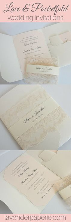 ♥ INVITATION LISTING COLORS ♥This uniquely inspired invitation is printed on a blush shimmer scalloped shaped cardstock, nestled into an ivory shimmer scall