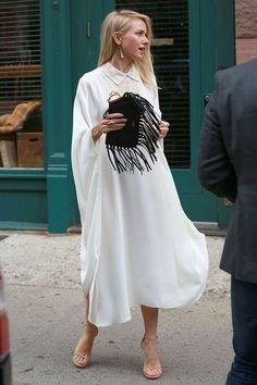 Bohemian // Street Style // Minimalism Naomi Watts