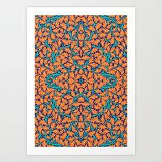 Climbing Waltz Art Print by Geetika Gulia - $16.00