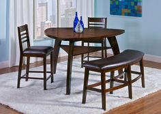 American Signature Furniture - Delano Dining Room Collection-Counter-Height Table $399.99