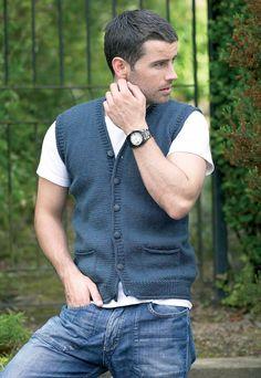 Ravelry: Man's Waistcoat by Stylecraft Yarns