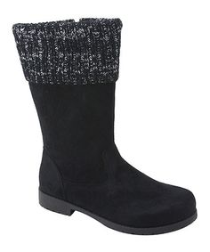 Bumper Black Evelyn Boot | zulily