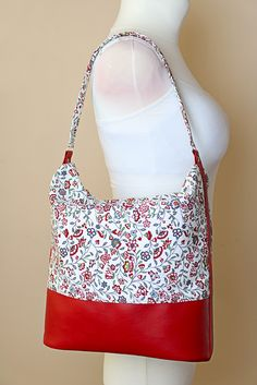 How to sew a hobo bag - sewing pattern and step by step tutorial by Ardente Design
