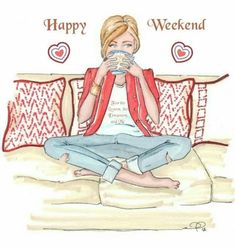 Hello Weekend, Happy Weekend, Life Sketch, Yoga Illustration, Im A Survivor, New Year New Me, Babe Cave, English Phrases, Boss Babe