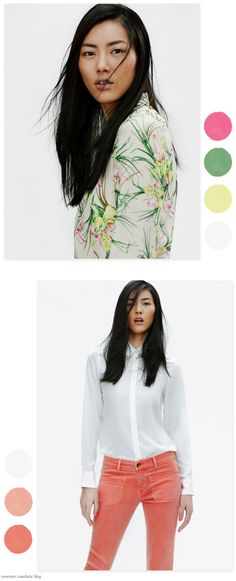 Zara - April 2012 Lookbook - Home - Creature Comforts - daily inspiration, style, diy projects + freebies