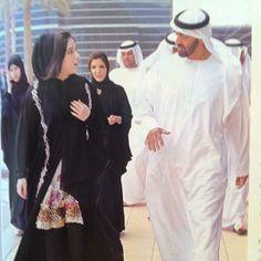 Maryam MRM (1ª) and Mohammed bin Zayed bin Sultan Al Nayhan