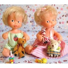 Barriguitas Vintage Dolls, Retro Vintage, Barbie And Ken, Sweet Memories, My Memory, Old Toys, My Childhood, Mini, Nostalgia