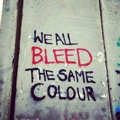 Y rojo es nuestro corazón.