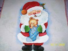 Mara Marques Pintura e Croche: Guardanapos de  Natal