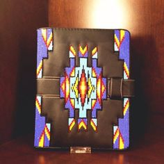 Guest book/ Bible Cover Native American beadwork
