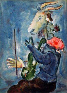 Allegoria della Primavera | TuttArt@ | Pittura * Scultura * Poesia * Musica |Marc Chagall | 1887-1985