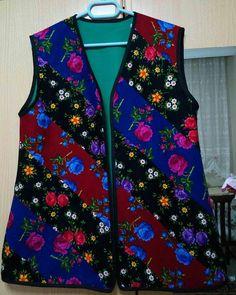 Knit Fashion, Womens Fashion, Diy Clothes, Clothes For Women, Girl Dress Patterns, Batik, Vest Pattern, Patchwork Dress, Chiffon