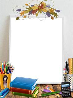 Boarder Designs, Frame Border Design, Page Borders Design, Photo Frame Design, Teachers Day Poster, Boarders And Frames, School Frame, Kids Background, Powerpoint Background Design