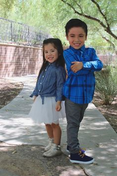 Back to school with Crazy 8 affordable kid clothing. Stylish kids.