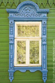 Деревянный наличник Костромы №21