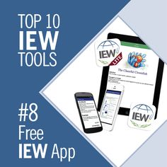 IEW Tool #8: The IEW App