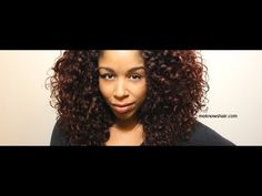 """Straight Hair Recovery: In this tutorial, I show you how I """"recover"""" my wavy curls after using tool heat."""