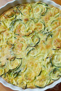 Cukinia zapiekana z jajkiem i serem