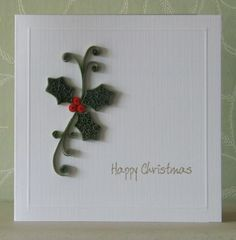 The Pinkshop Blog: My first quilled Christmas card.