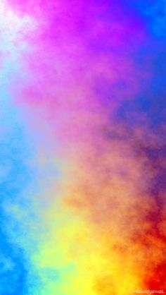 Abstract Colored Smoke. Tap to see more awesome Apple iPhone HD Wallpapers! Colorful blend backgrounds - @mobile9