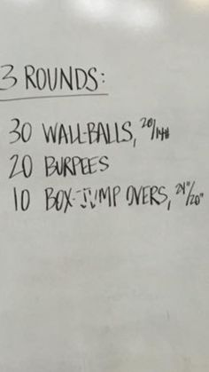 CrossFit workout I missed yesterday. Maybe a double WOD tomorrow? Goal: under 13:00 #cardio #WBS #itsgotime #cardiogym
