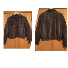 Ralph Lauren 100% leather jacket. Ralph Lauren 100% leather jacket. Size S. Some of the string are coming loose vet fixable. Otherwise in great condition. Ralph Lauren Jackets & Coats