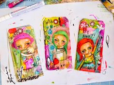 Susana Tavares: Tags - Painting Process see step by step on her blog....  great post!