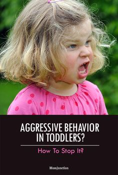How To Stop Aggressive Behavior In Your Toddler? If you are losing your cool over such behavior from your toddler, it is time to read on and know what you can do to help your toddler. #Parenting