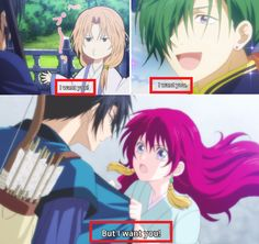 everyone wants hak!! akatsuki no yona