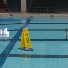 A wet floor you can drown in
