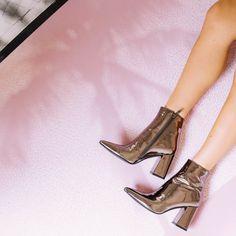 Alloy Boots - Gunmetal